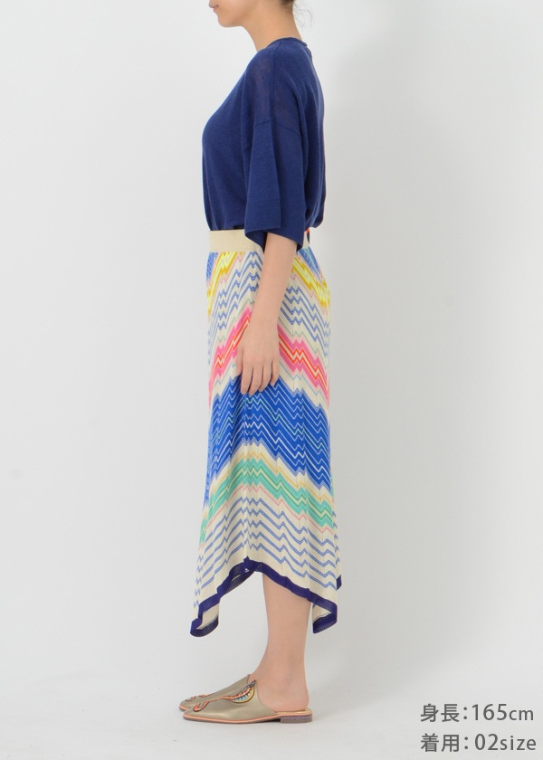 TSUMORI CHISATO / ジグザグレインボー / スカート