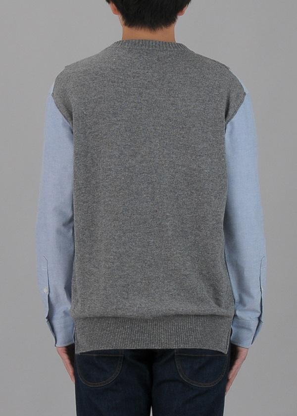 TSUMORI CHISATO / メンズ 箔プリントシャツ / プルオーバー
