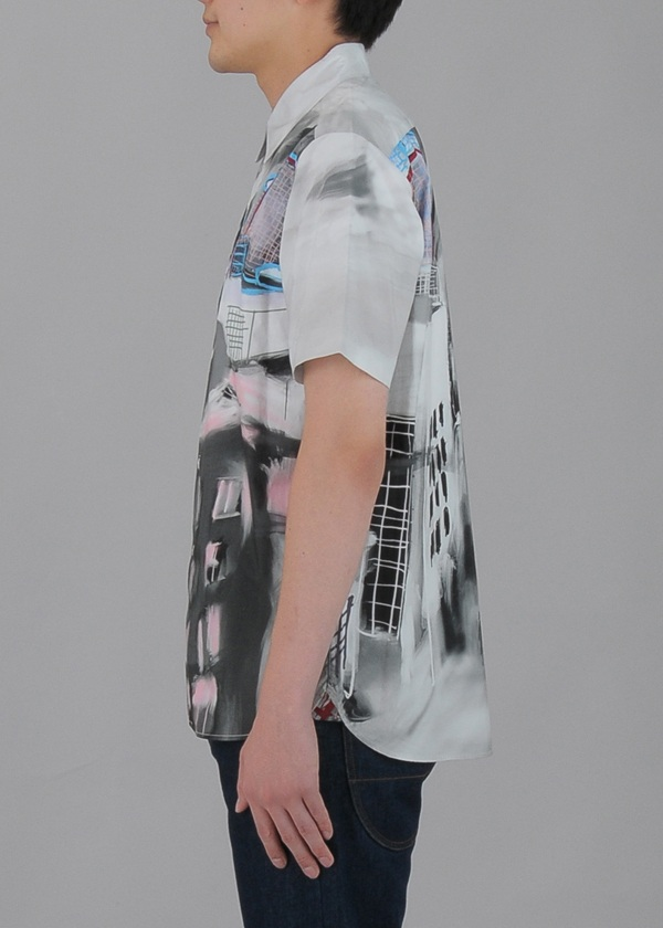 TSUMORI CHISATO / S メンズ ミュージアムプリントシャツ / シャツ
