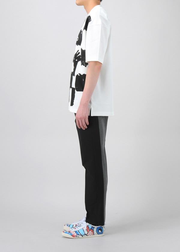TSUMORI CHISATO / メンズ ブロックチェックT / Tシャツ