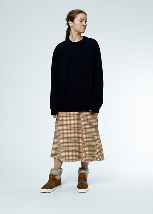 メルシーボークー、 / S チェッキモ / スカート
