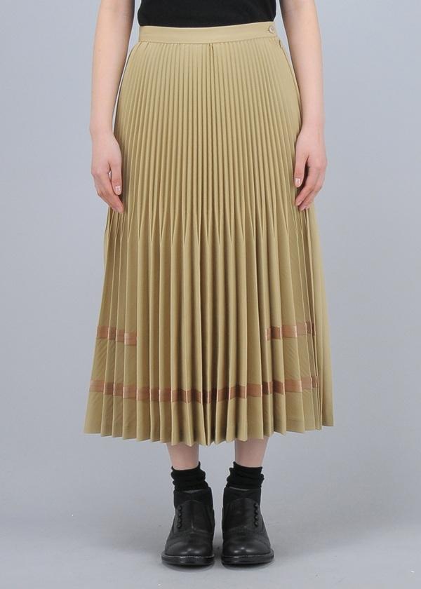 ネ・ネット / チノプリーツ / スカート