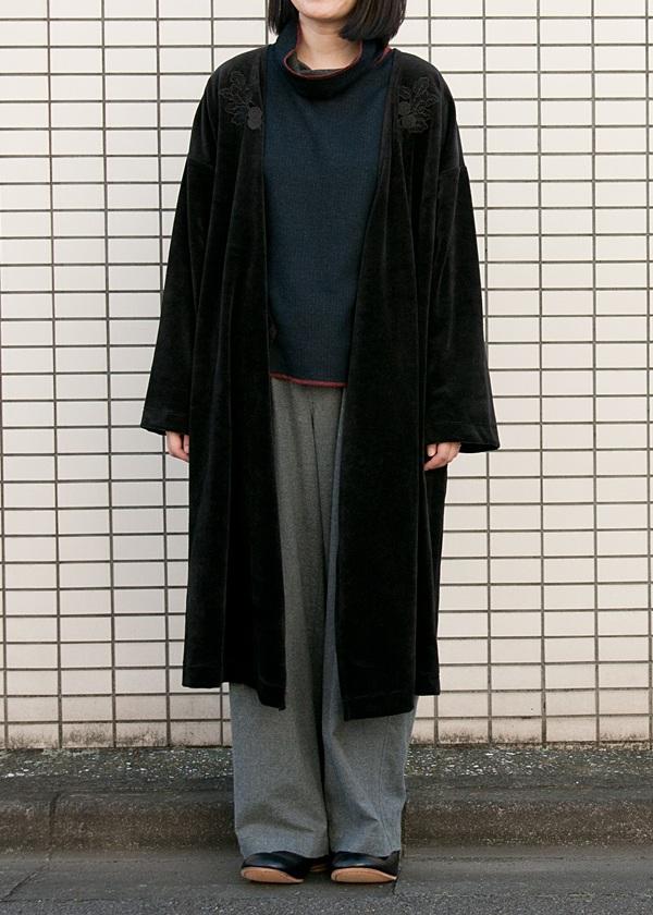 ネ・ネット / リップルベロア / 羽織り