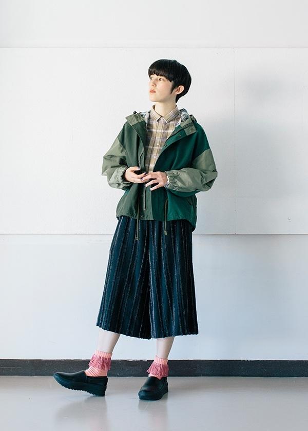 ネ・ネット / 刺し子チェック / シャツ
