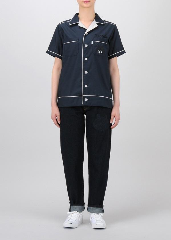 にゃー / S にゃーボウリングシャツ / シャツ
