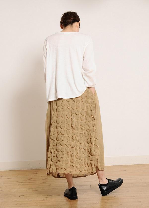 Plantation / S ヘリンボーンRipple / スカート