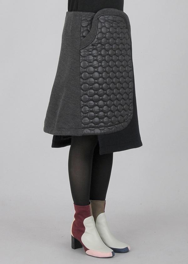 TSUMORI CHISATO / メルトン&キルト / スカート