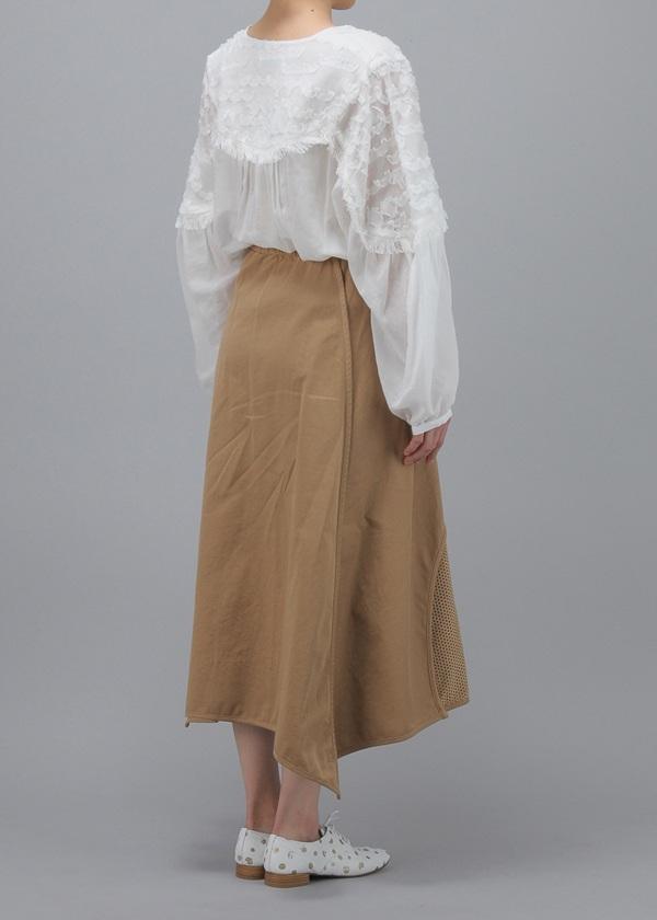 TSUMORI CHISATO / バーリントン&パンチング / スカート
