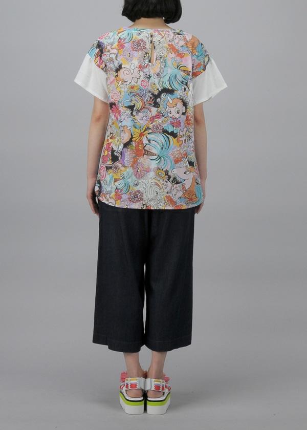 TSUMORI CHISATO / S トロピカルユニコドッキングT / カットソー