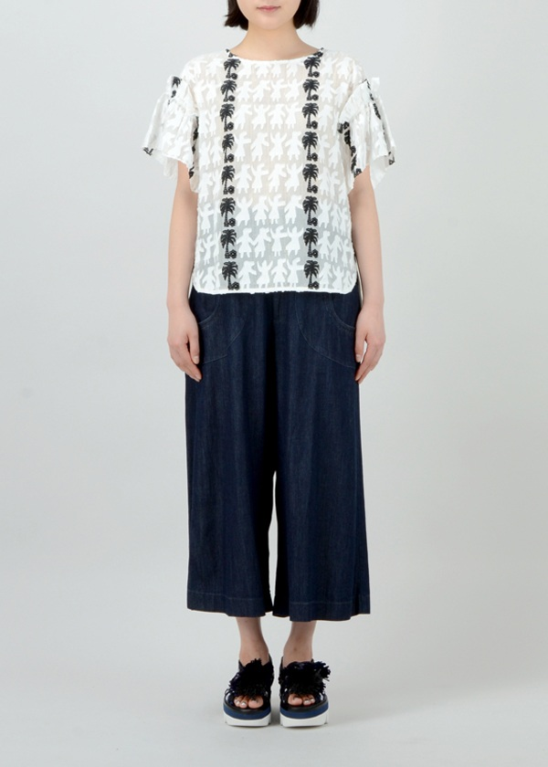 TSUMORI CHISATO / S フラダンサーズジャガード / カットソー