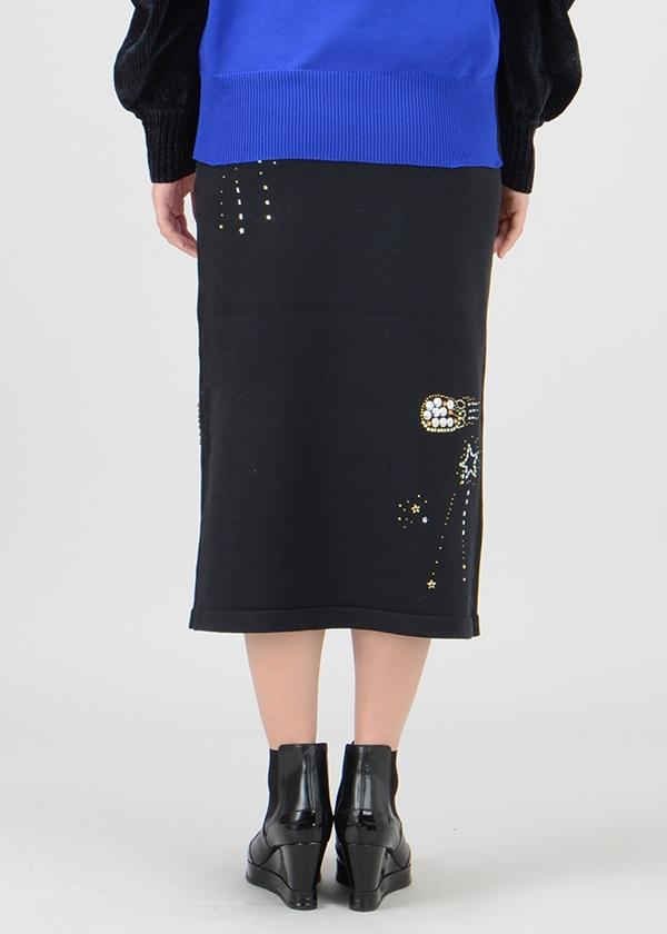 TSUMORI CHISATO / S ギラギラニット / スカート