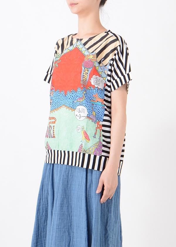 TSUMORI CHISATO / エジプトグラフィティT / Tシャツ