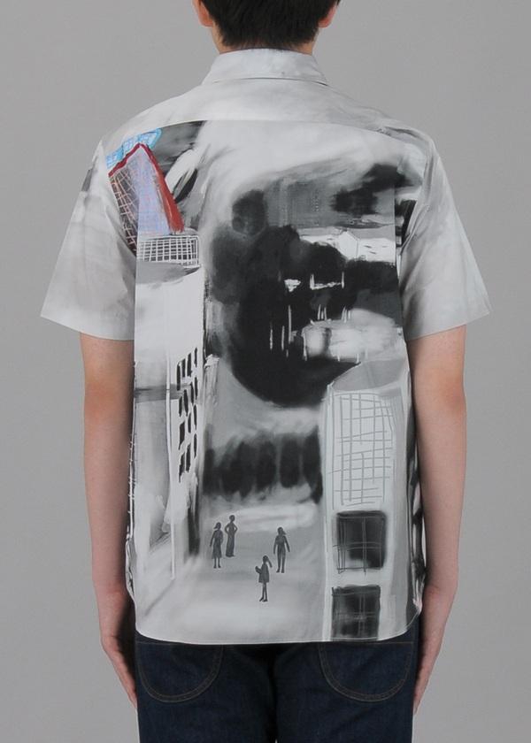 TSUMORI CHISATO / メンズ ミュージアムプリントシャツ / シャツ