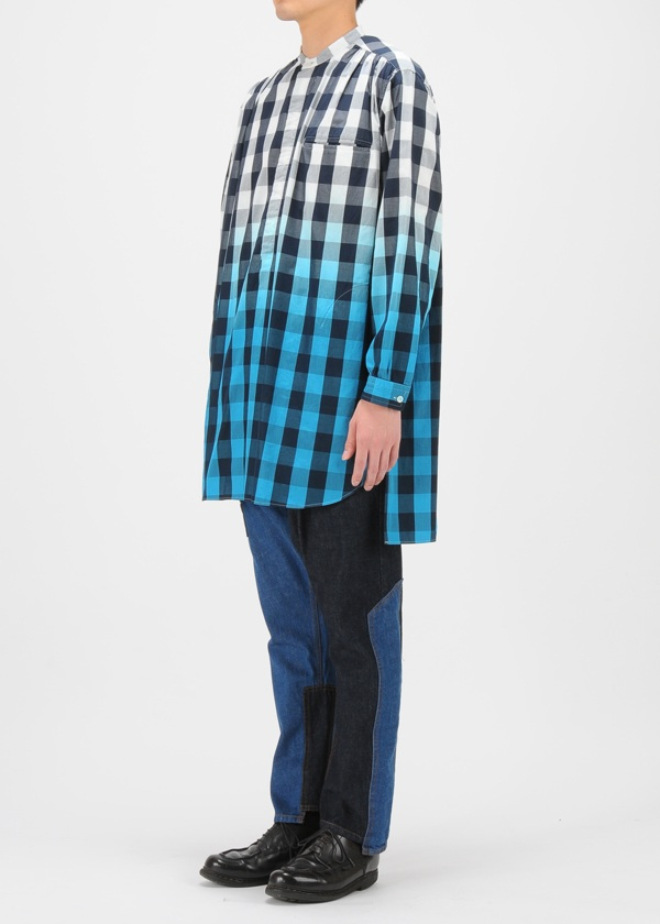 TSUMORI CHISATO / メンズ グラデーションチェック / シャツ