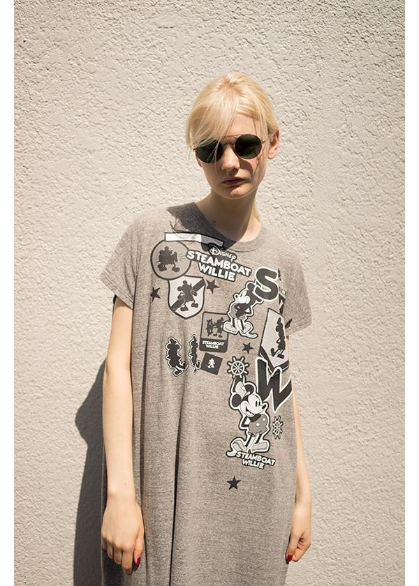 ZUCCa / MICKEY CREST T / Tシャツ
