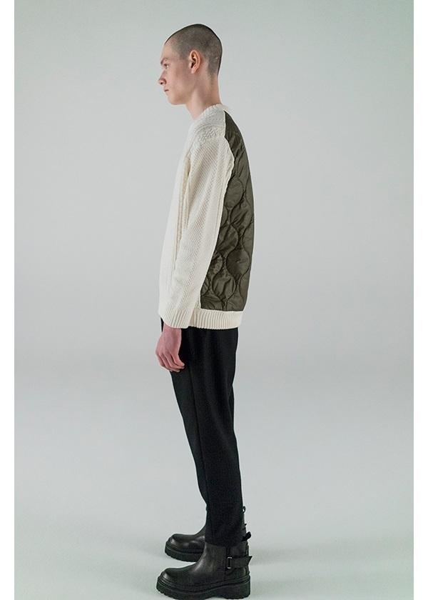ZUCCa / S メンズ ストライプウールジャージィー / パンツ