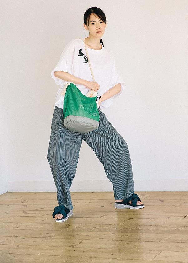 メルシーボークー、 / 【WEB限定】 L:メルネットバッグ / トートバッグ