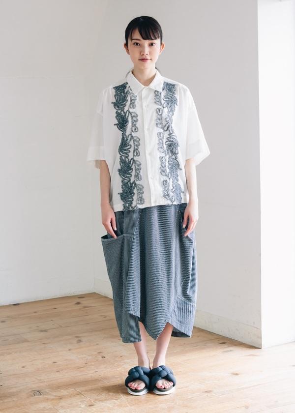 メルシーボークー、 / B:ヒッコリー / スカート