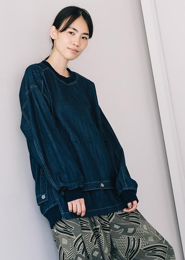 メルシーボークー、 / S B:デニシャツ / ブラウス
