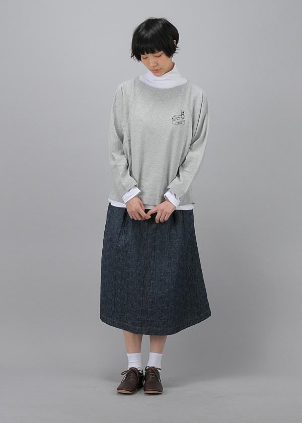ネ・ネット / S りすうさぎデニム / デニムスカート