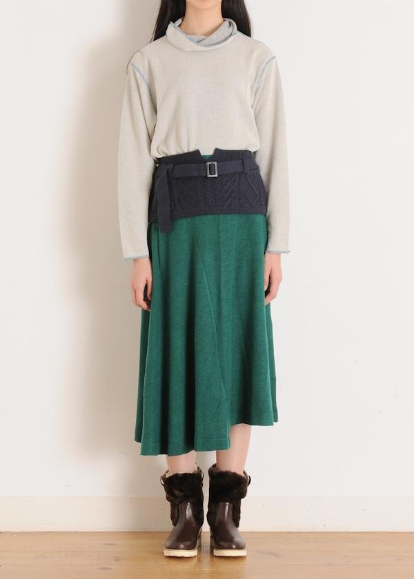 ネ・ネット / S wear knitジャージ / スカート