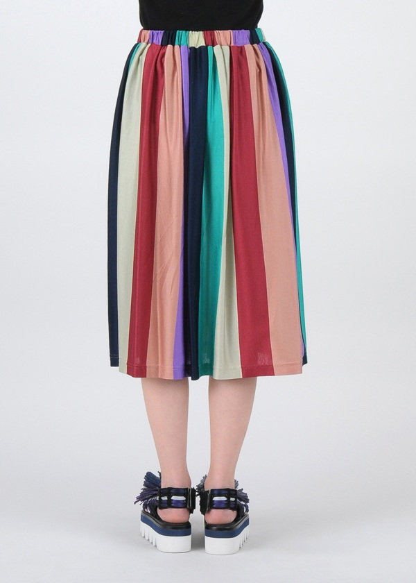 TSUMORI CHISATO / S マルチボーダーT / スカート