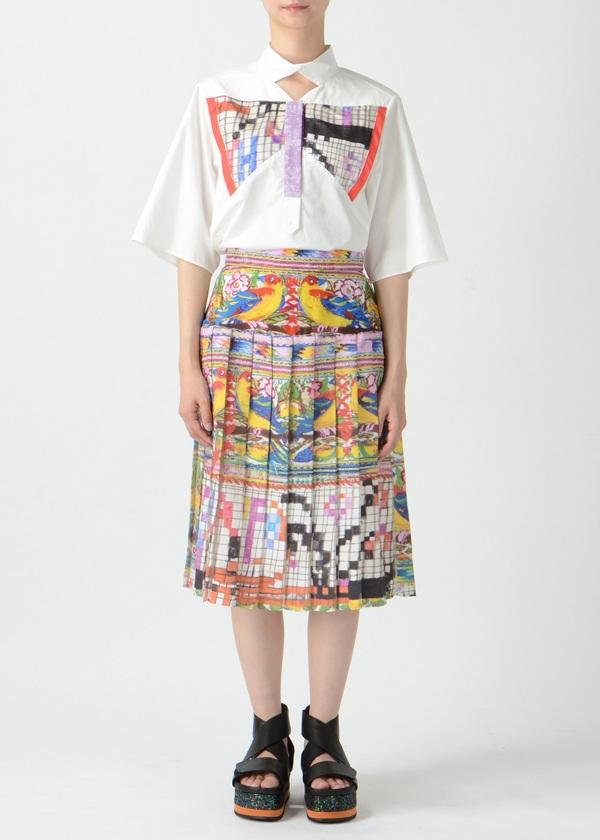 TSUMORI CHISATO / S グアテマラバードストライプ / スカート