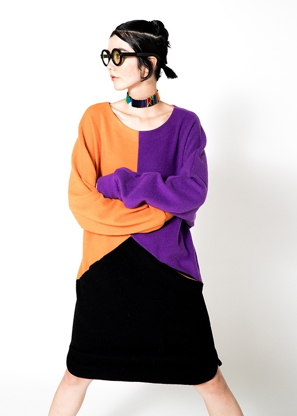 TSUMORI CHISATO / フカフカウール / ワンピース
