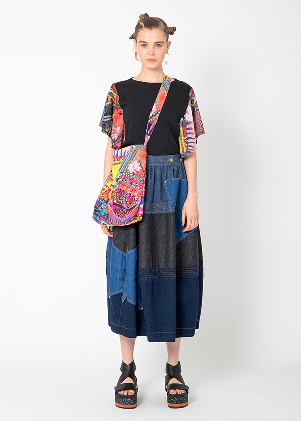 TSUMORI CHISATO / S グアテマラドッキングT / Tシャツ