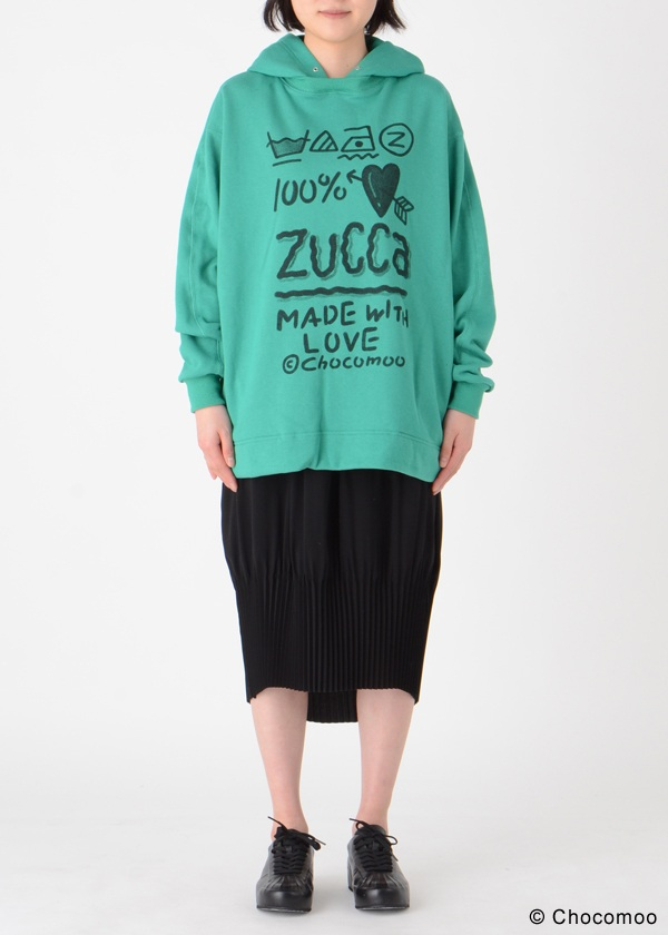 ZUCCa / Chocomoo×ZUCCa 100%裏毛 / カットソー