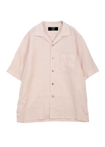 ZUCCa / S メンズ リネンシャツ / 半袖シャツ