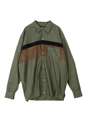 ZUCCa / S メンズ コットンキュプラシャツ / シャツ