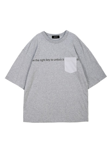 ZUCCa / メンズ POCKET Tシャツ / Tシャツ