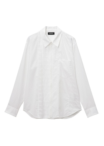 ZUCCa / ストライプMIXシャツ / ブラウス