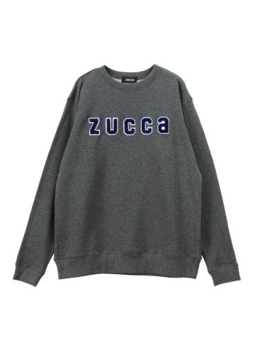 ZUCCa / メンズ ワッペンロゴ裏毛 / トレーナー