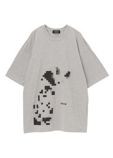 <先行予約>ZUCCa / メンズ ダルメシアンTシャツ / カットソー