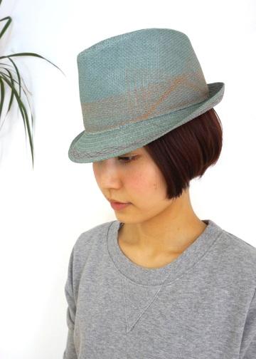 【SALE】kuskus / PS (B)ラインハット / 帽子 gray(24)