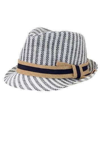 【SALE】kuskus / S (B)ストライプハット / 帽子 black(26)