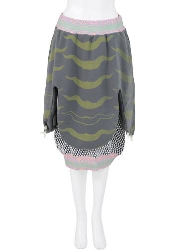 メルシーボークー、 / PD ウラドラケ / スカート gray(24)
