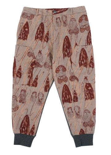 メルシーボークー、 / メンズ ほのぼのジャガード / パンツ