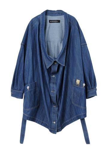 メルシーボークー、 / S B:デ二わさシャツ / 羽織り