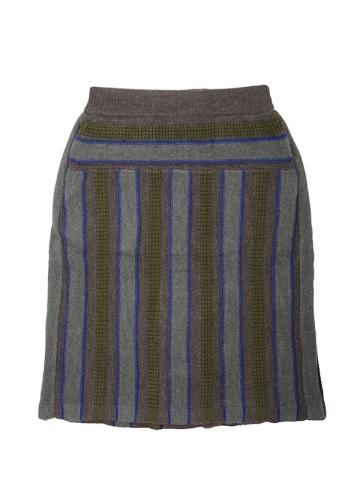 メルシーボークー、 / トタンモールニット / スカート