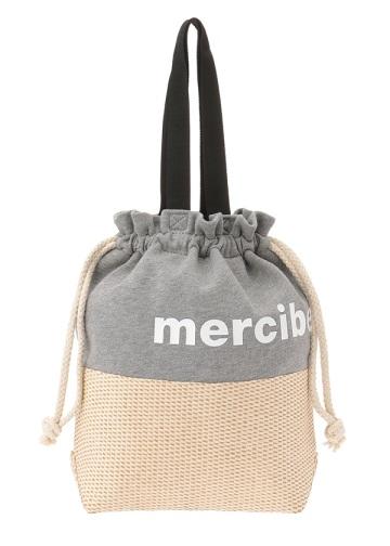 メルシーボークー、 / かご巾着 / バッグ