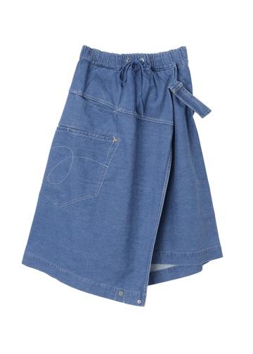 メルシーボークー、 / S もったいない巻きスカ / スカート