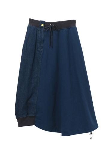 メルシーボークー、 / デニムあわせ / スカート