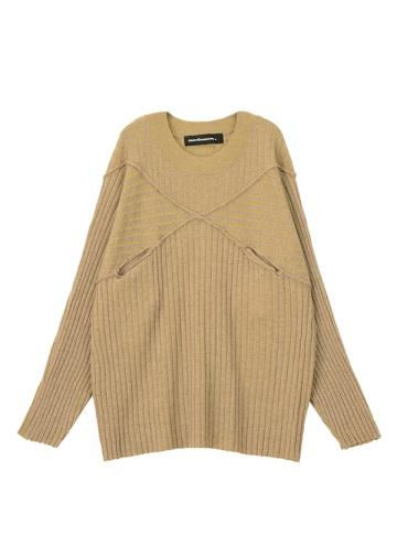 メルシーボークー、 / B:ちらちらニット / セーター