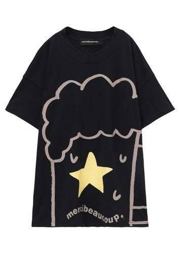 <先行予約> メルシーボークー、 / B:夏の風物ティー / Tシャツ