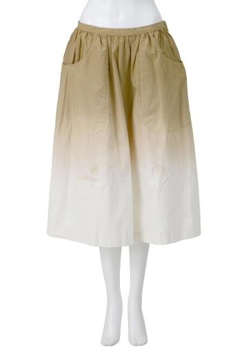 【SALE】ネ・ネット / S NYオンブレー / スカート beige(03)
