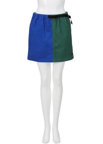 【SALE】にゃー / S からふるにゃーぼとむ / スカート blue(12)