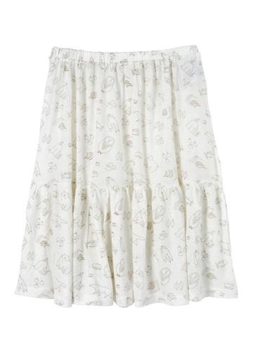 ネ・ネット / (O) キコリノモリジャージ / スカート